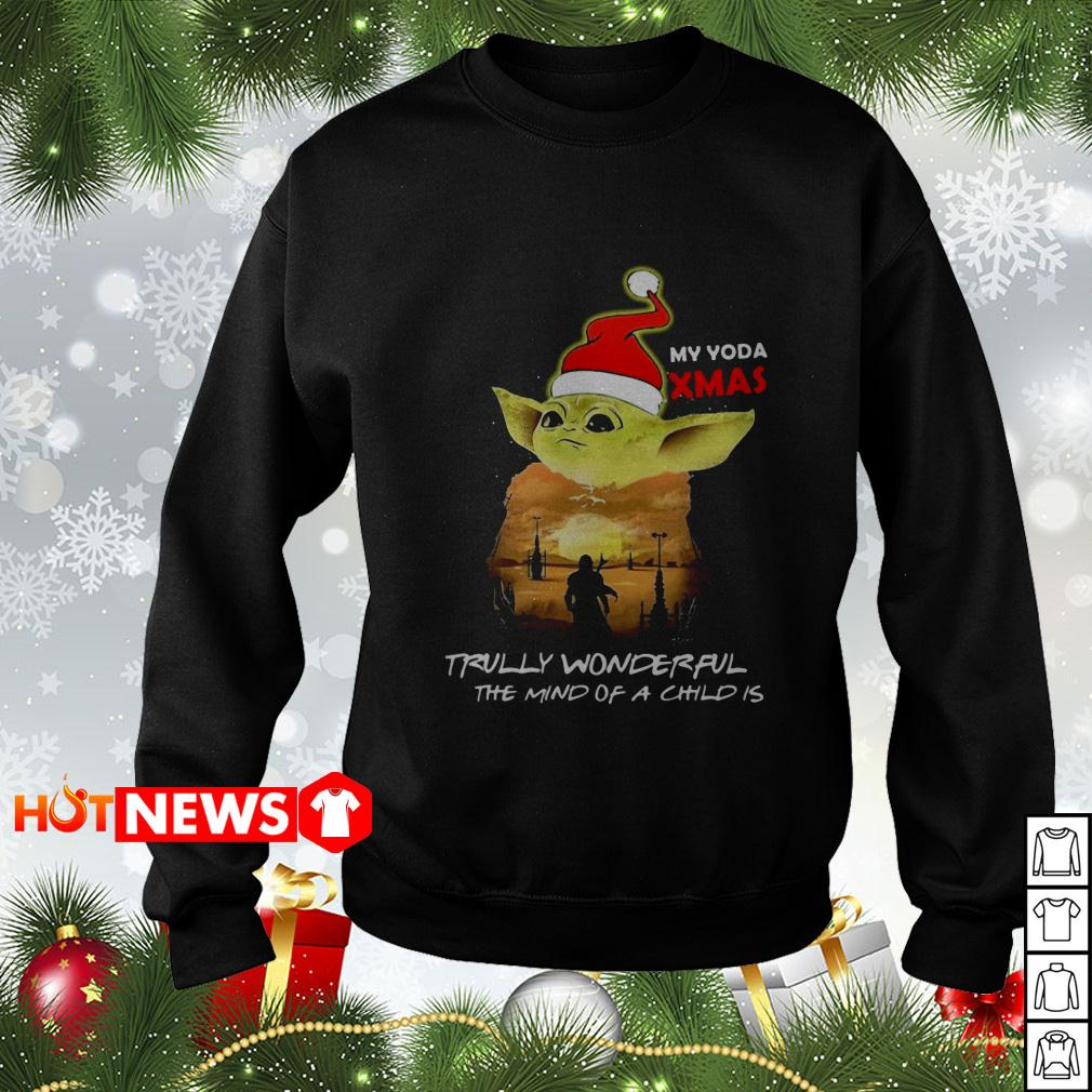 My Yoda Xmas truly wonderful the mind of a child is sweater