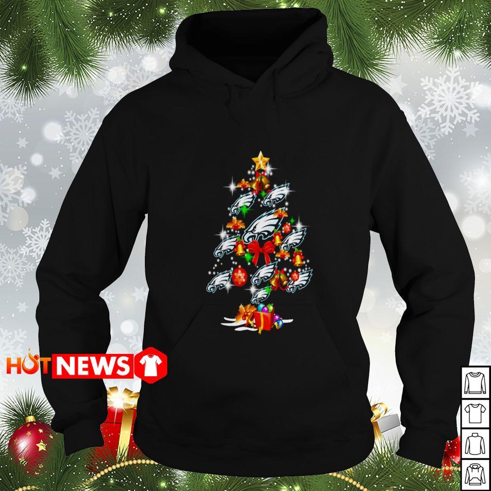 Philadelphia Eagles Christmas tree Hoodie