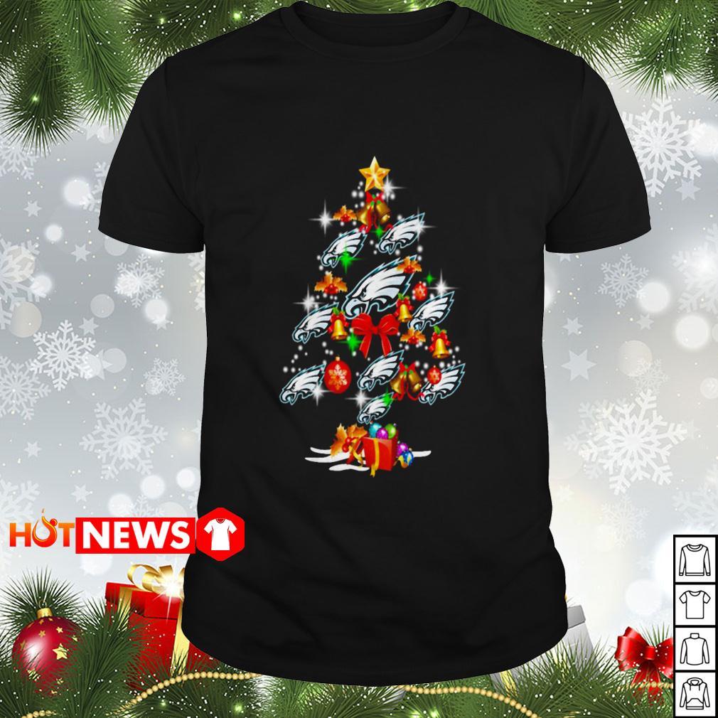 Philadelphia Eagles Christmas tree Guys shirt