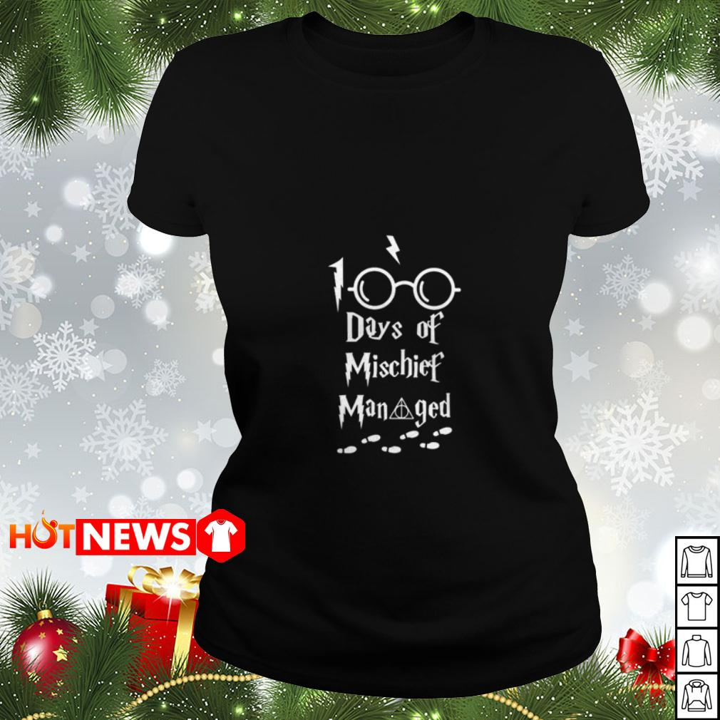 100 days of Mischief Managed Harry Potter Ladies tee