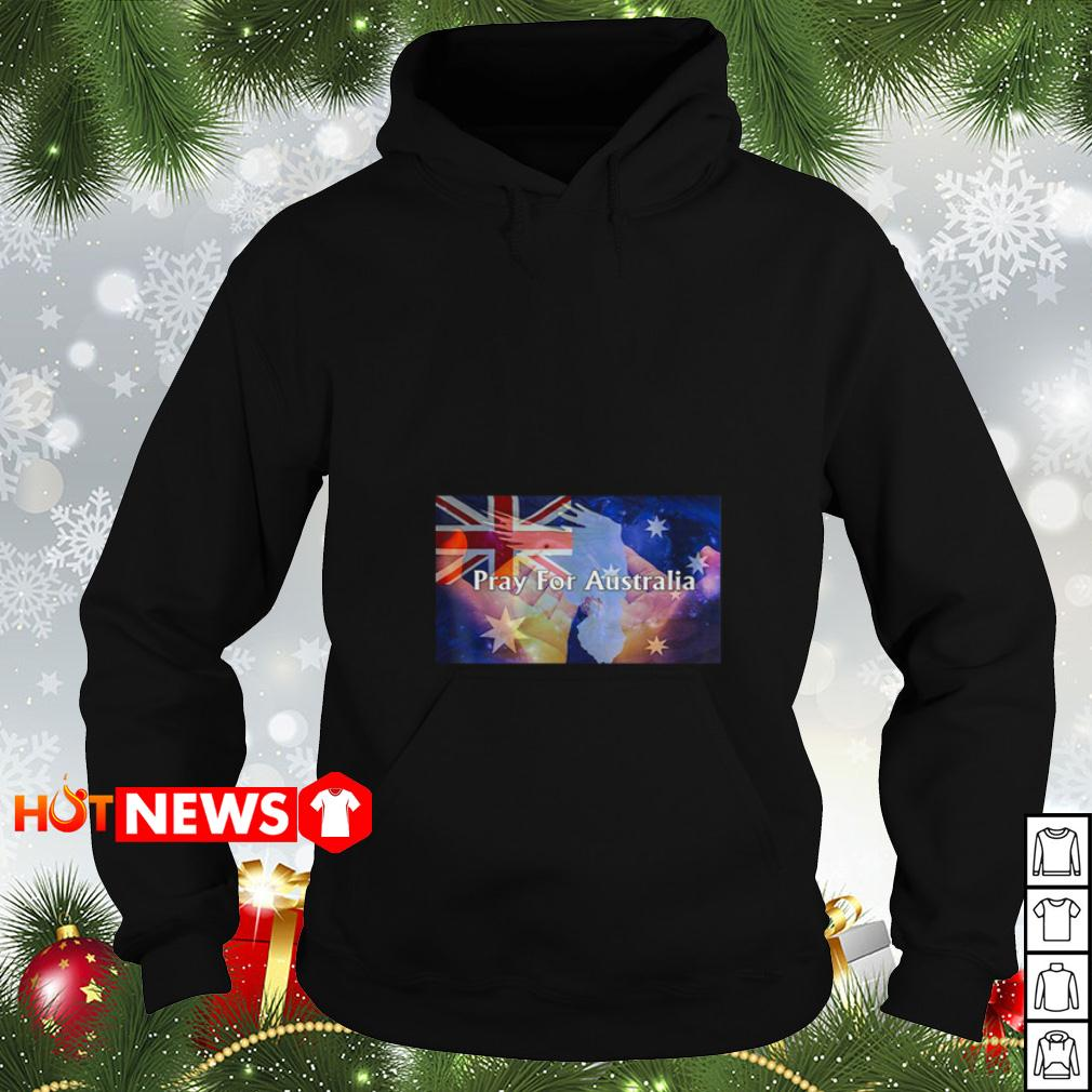 4th of July independence Pray For Australia Hoodie