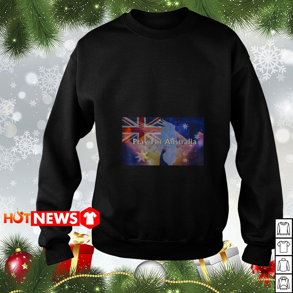 4th of July independence Pray For Australia Sweater