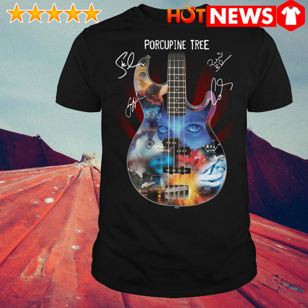 Guitar Porcupine tree shirt