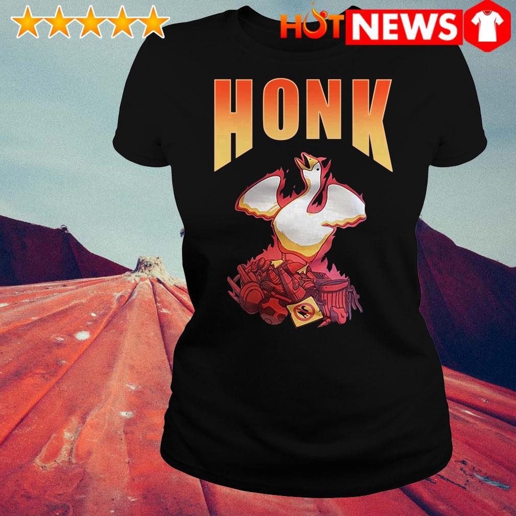 Honk goose game Ladies Tee