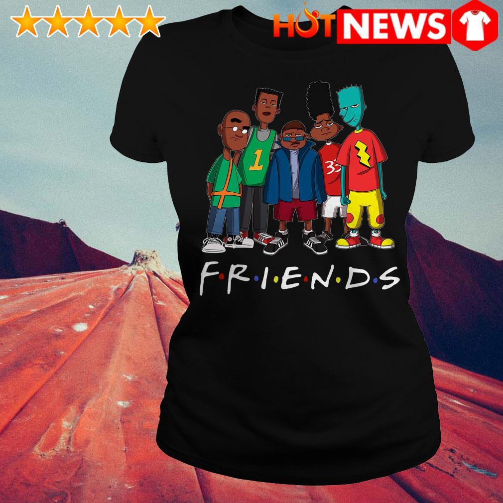 We Are Black Friends TV show Ladies Tee