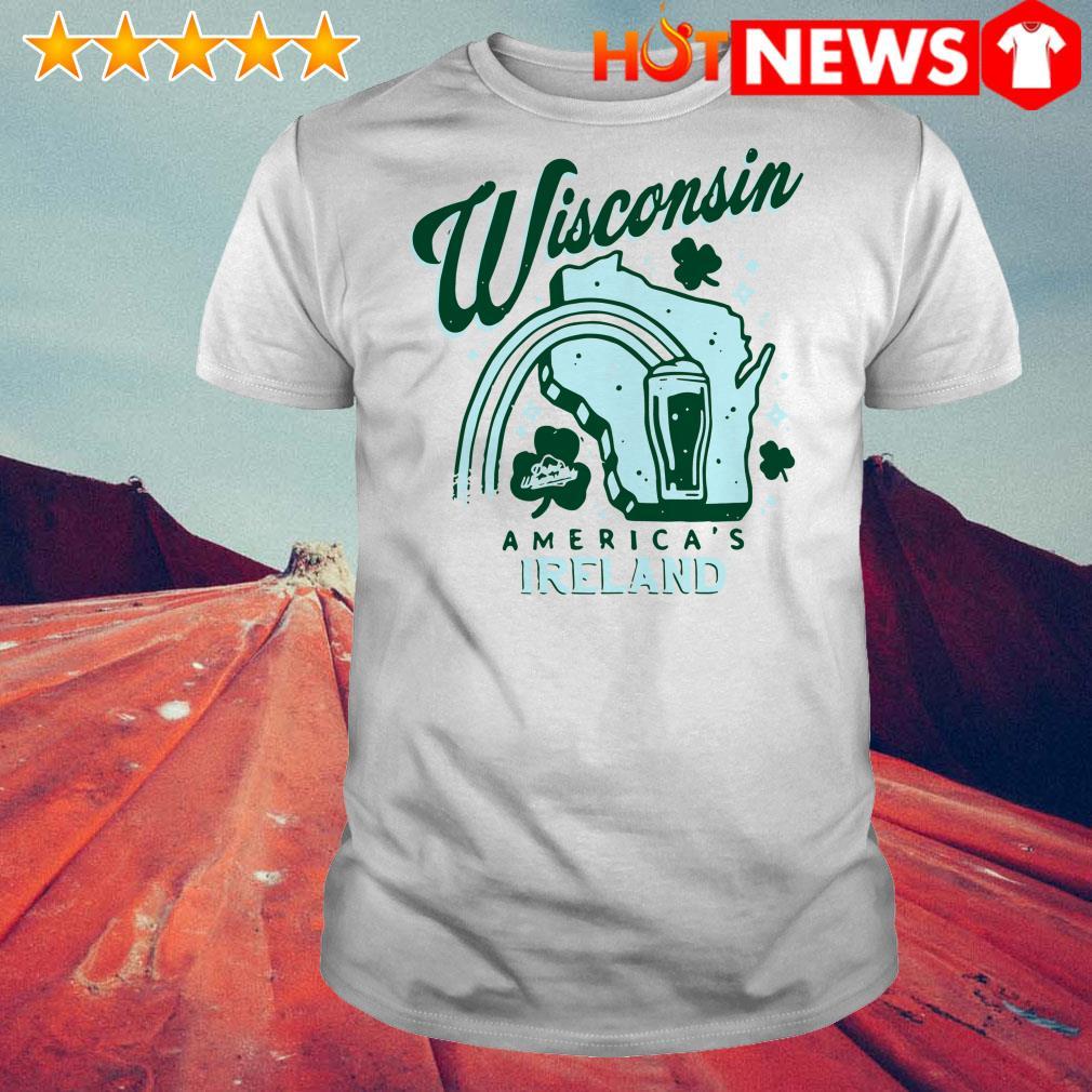 Wisconsin America's Ireland shirt