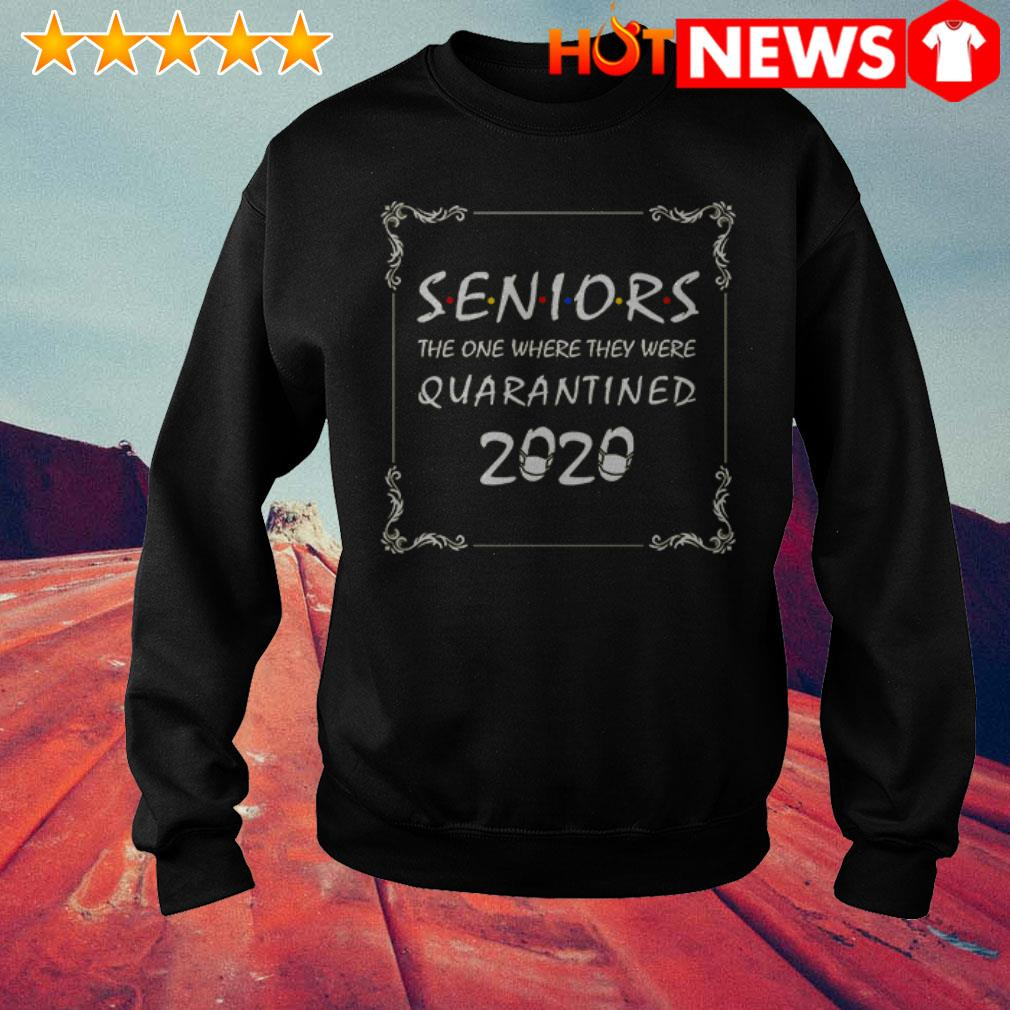Awesome Friends Seniors the one where they were Quarantined 2020 Sweater