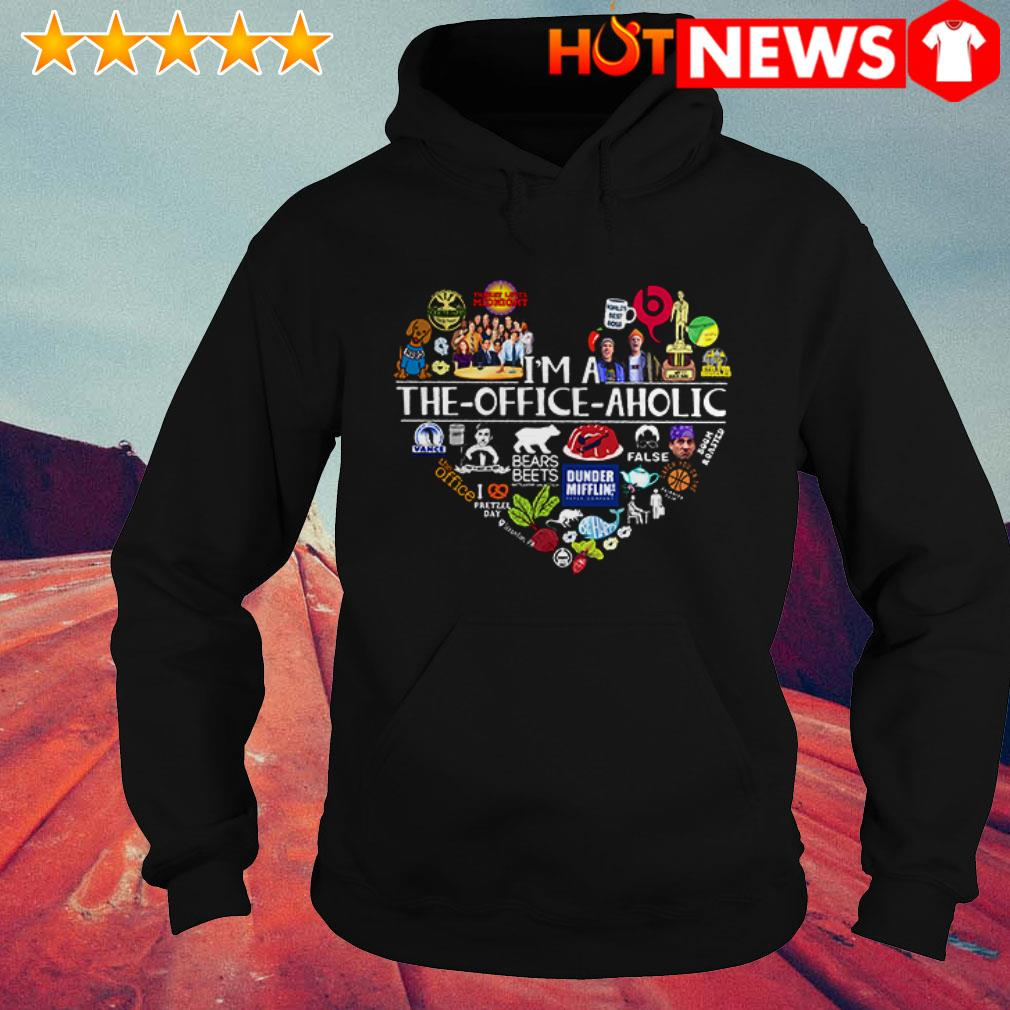Awesome Heart I'm a the Office aholic Hoodie