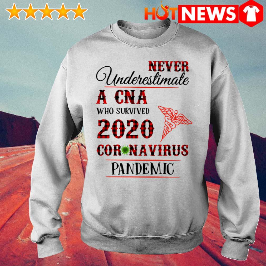 Awesome Never underestimate a CNA 2020 Coronavirus pandemic Sweater