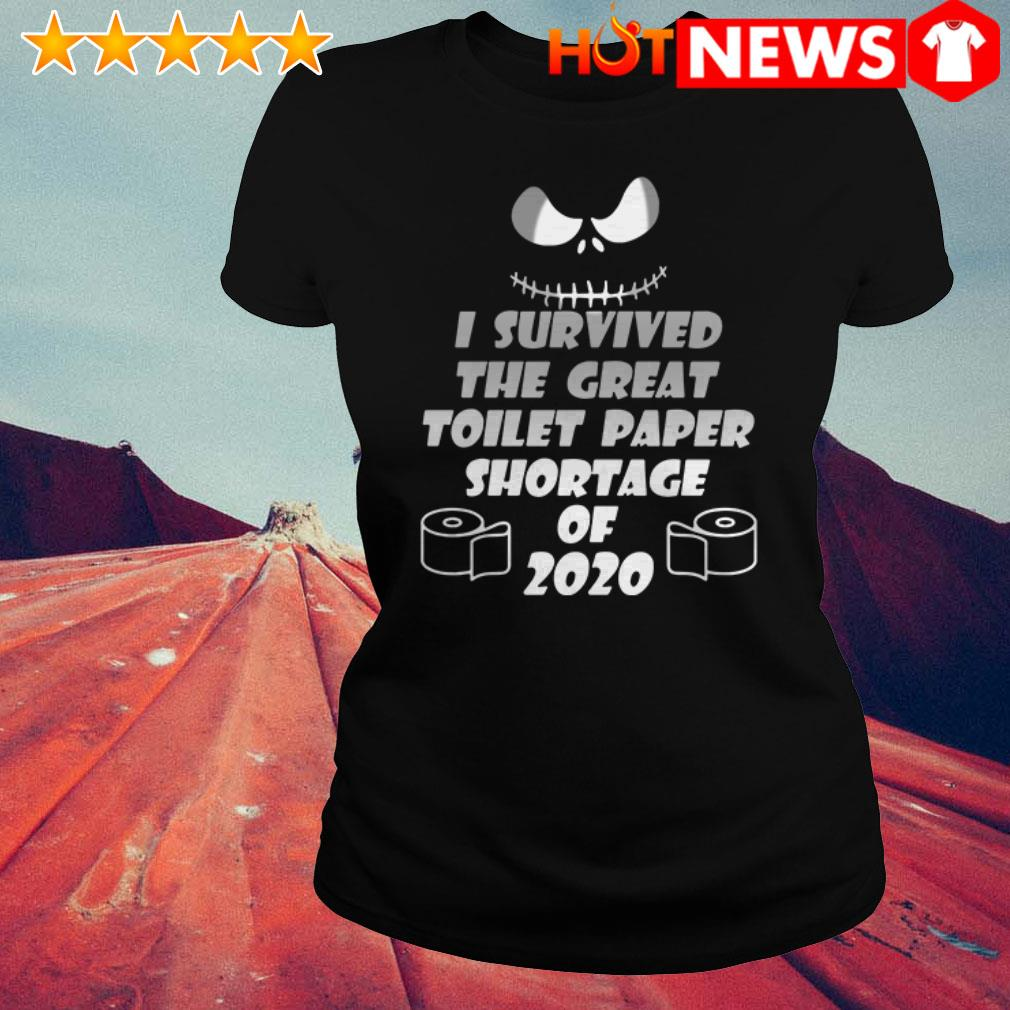 Awesome I survived the great toilet paper shortage of 2020 Ladies Tee