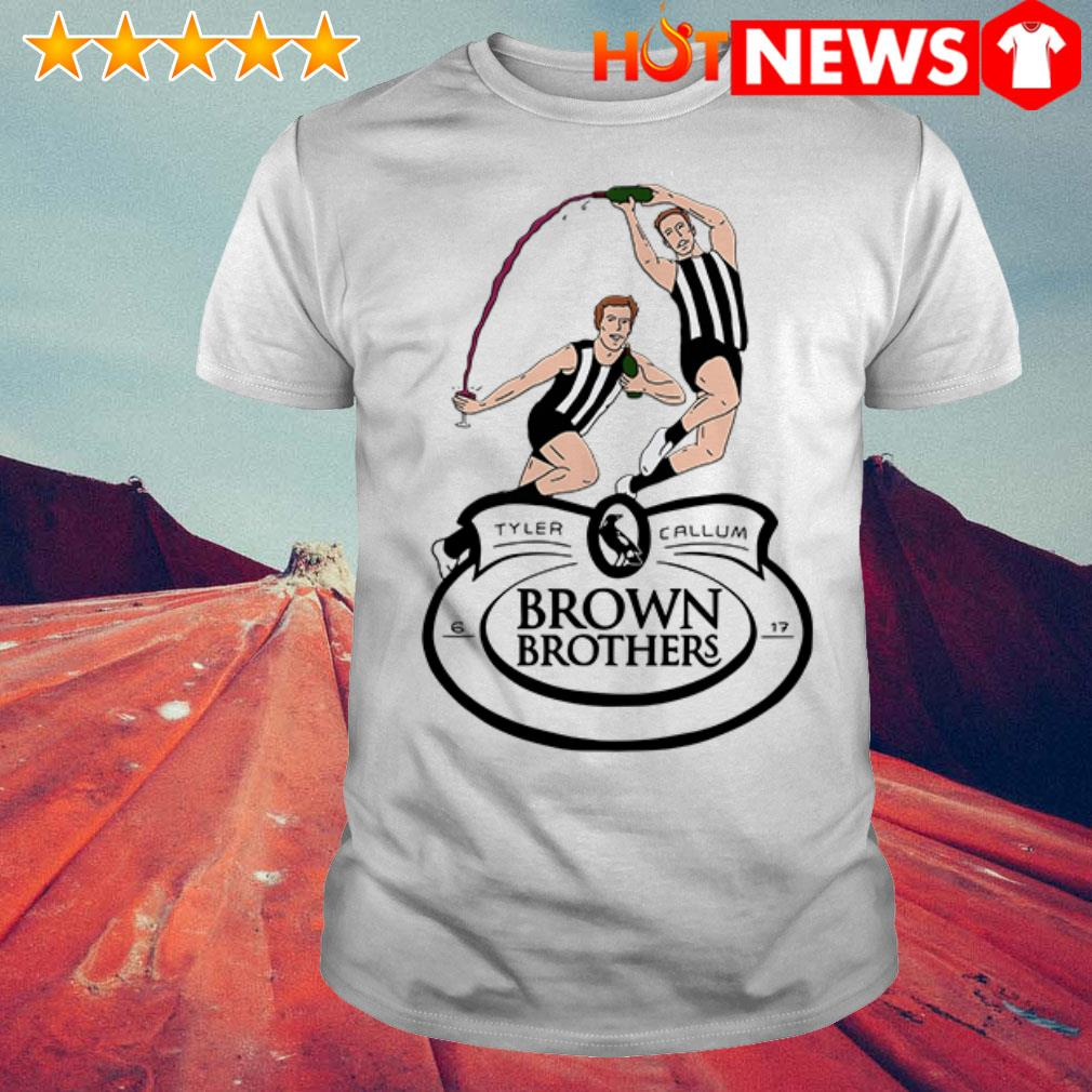 Brown Brothers Tyler and Callum shirt