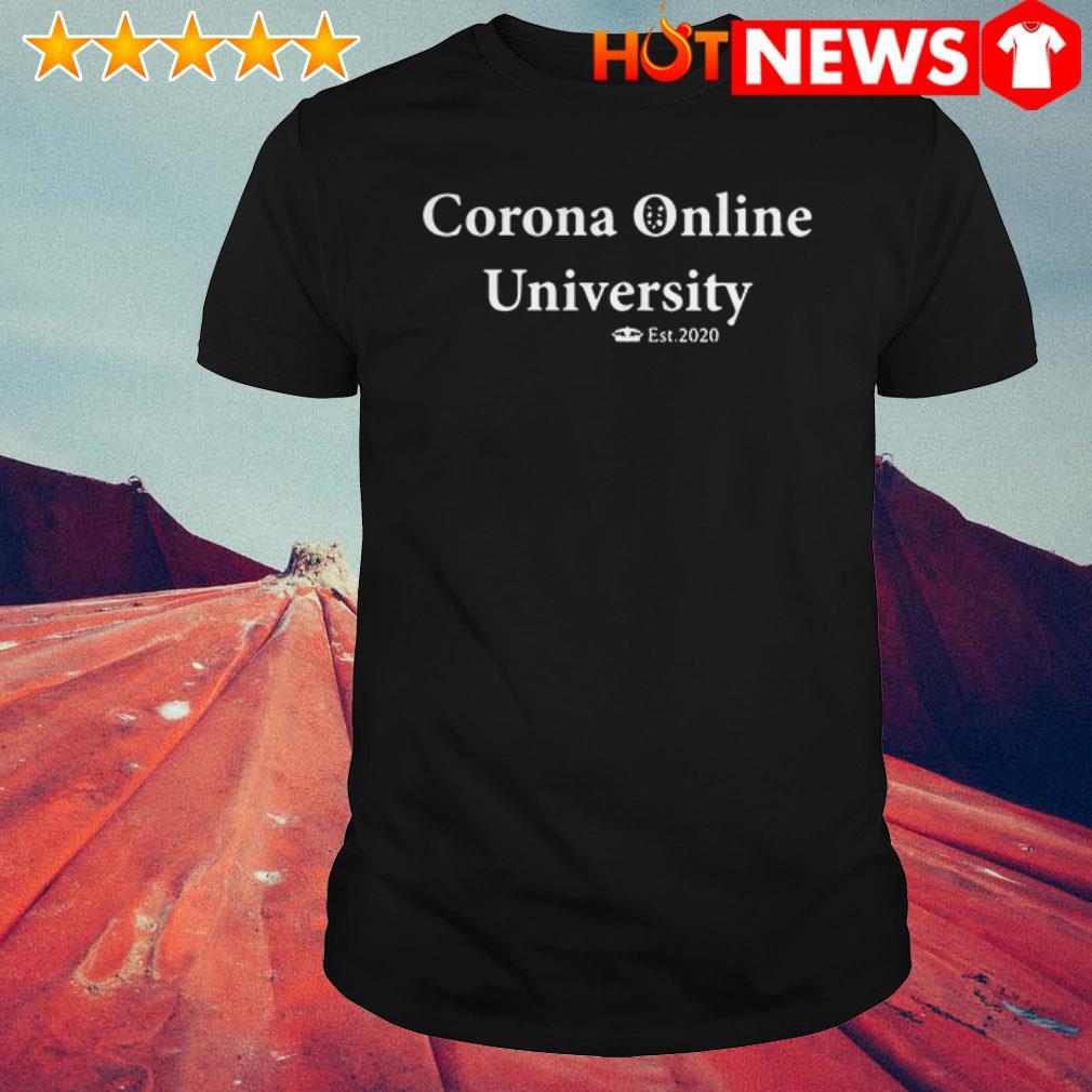 Covid-19 Corona Online University shirt