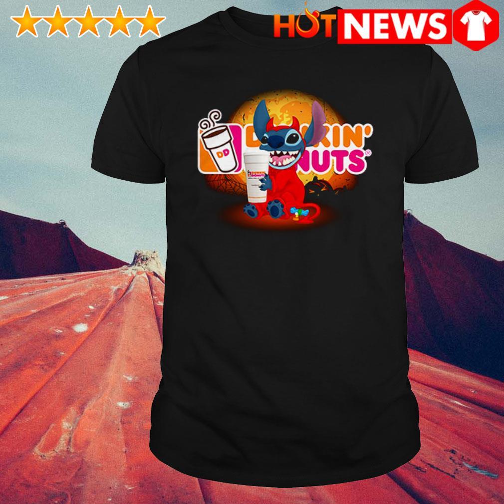 Disney Stitch loves Dunkin' Donuts shirt