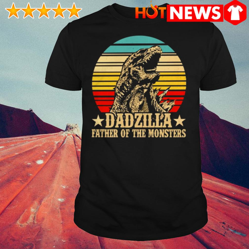 Gorilla Dadzilla father of the monsters vintage shirt