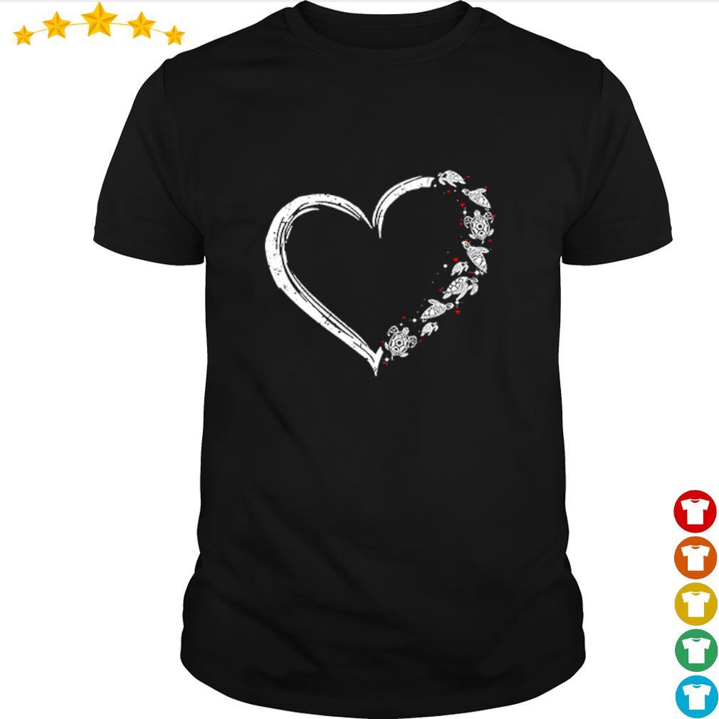 Love Turtle Heart shirt from Nemoshirt