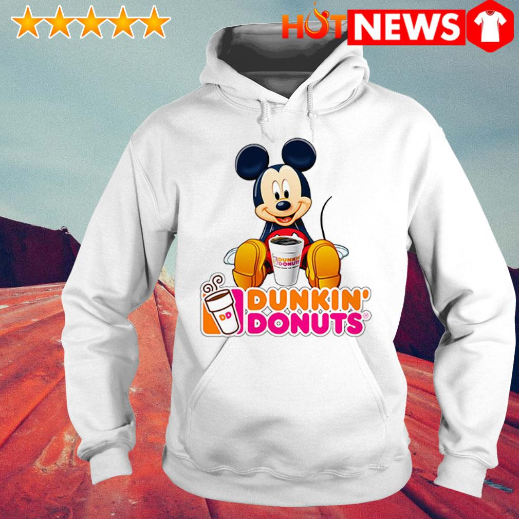 Mickey Mouse like drink Dunkin' Donuts Hoodie