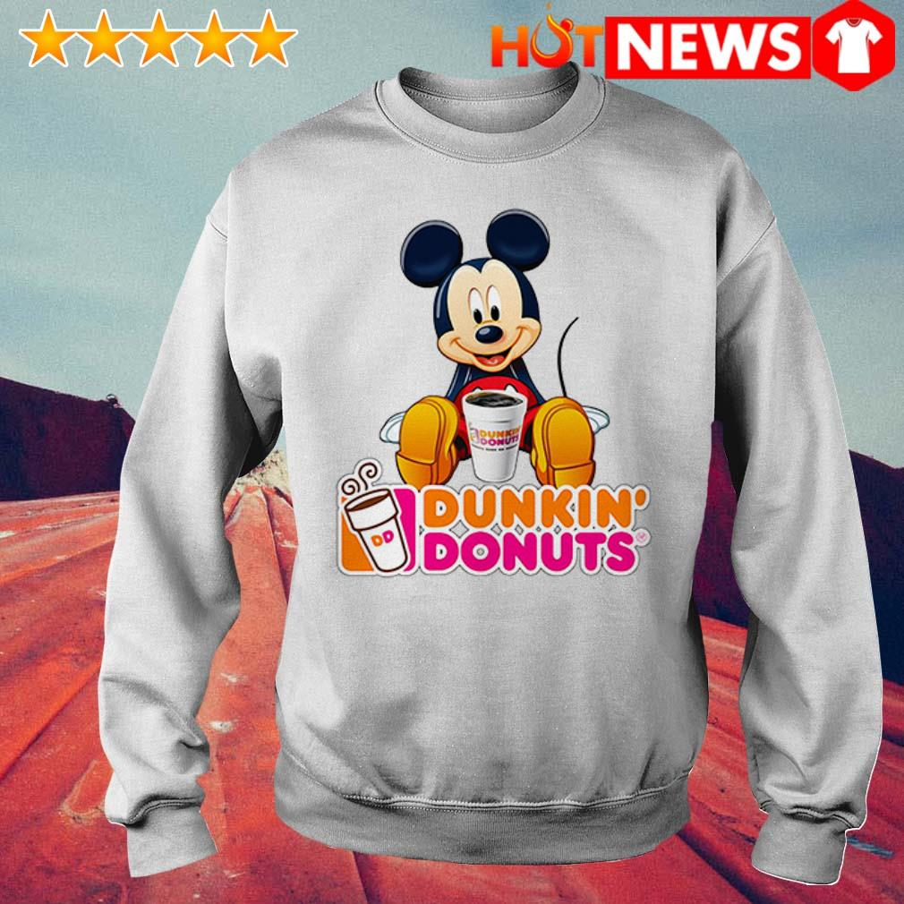 Mickey Mouse like drink Dunkin' Donuts Sweater
