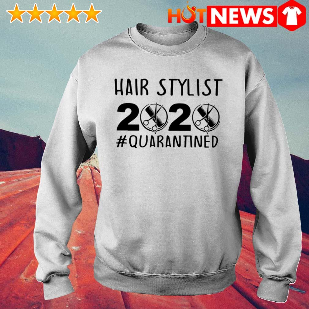 Official Hair stylist 2020 Quarantined Sweater