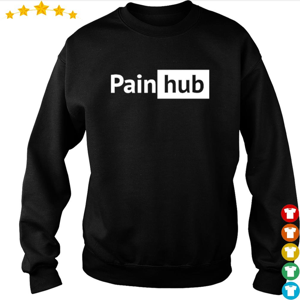 Official Pain hub shirt from Nemos sweater