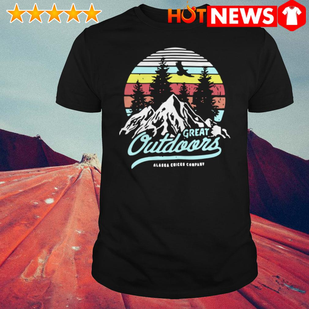 Vintage Alaska chicks company Great outdoors shirt