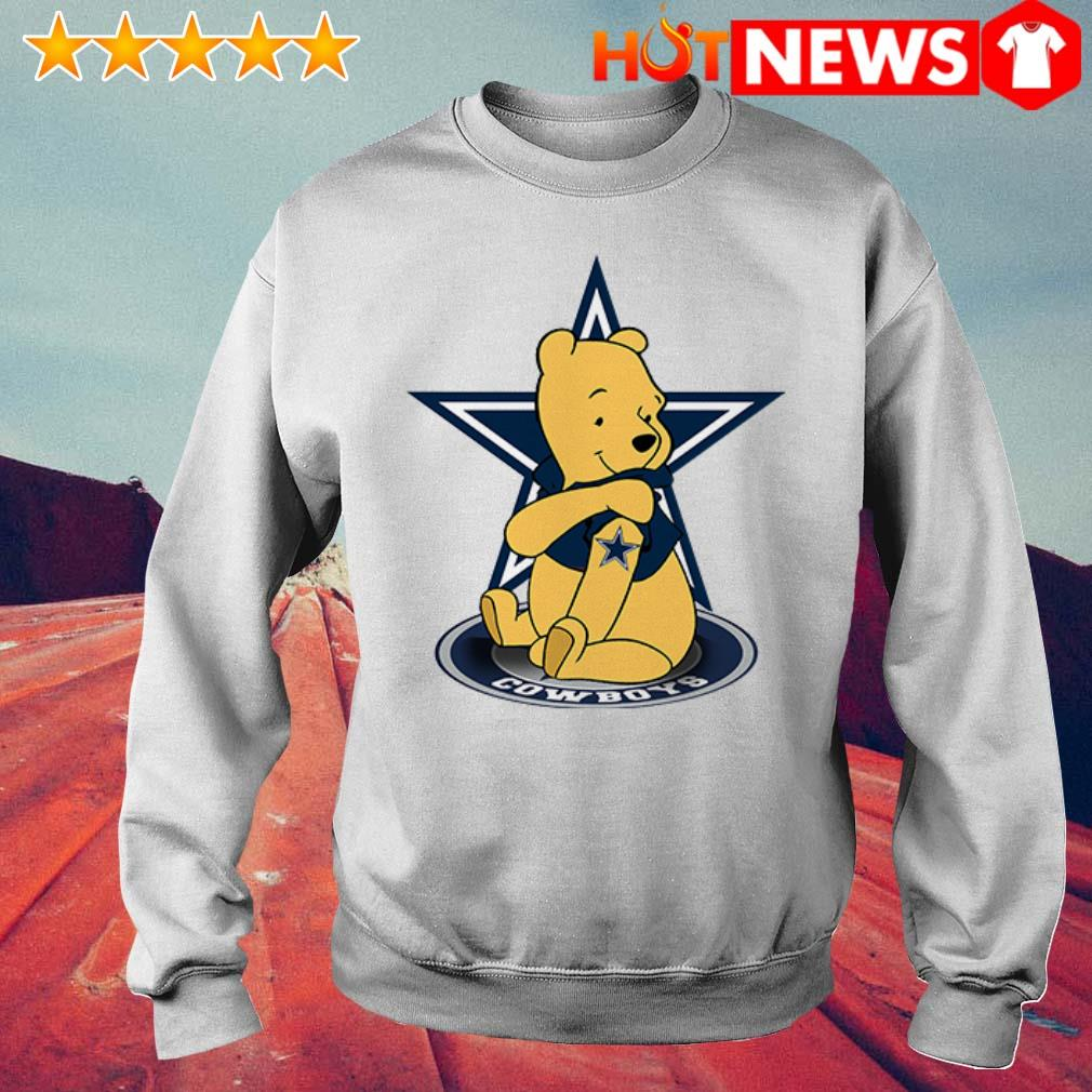 Winnie the Pooh loves Dallas Cowboys Sweater