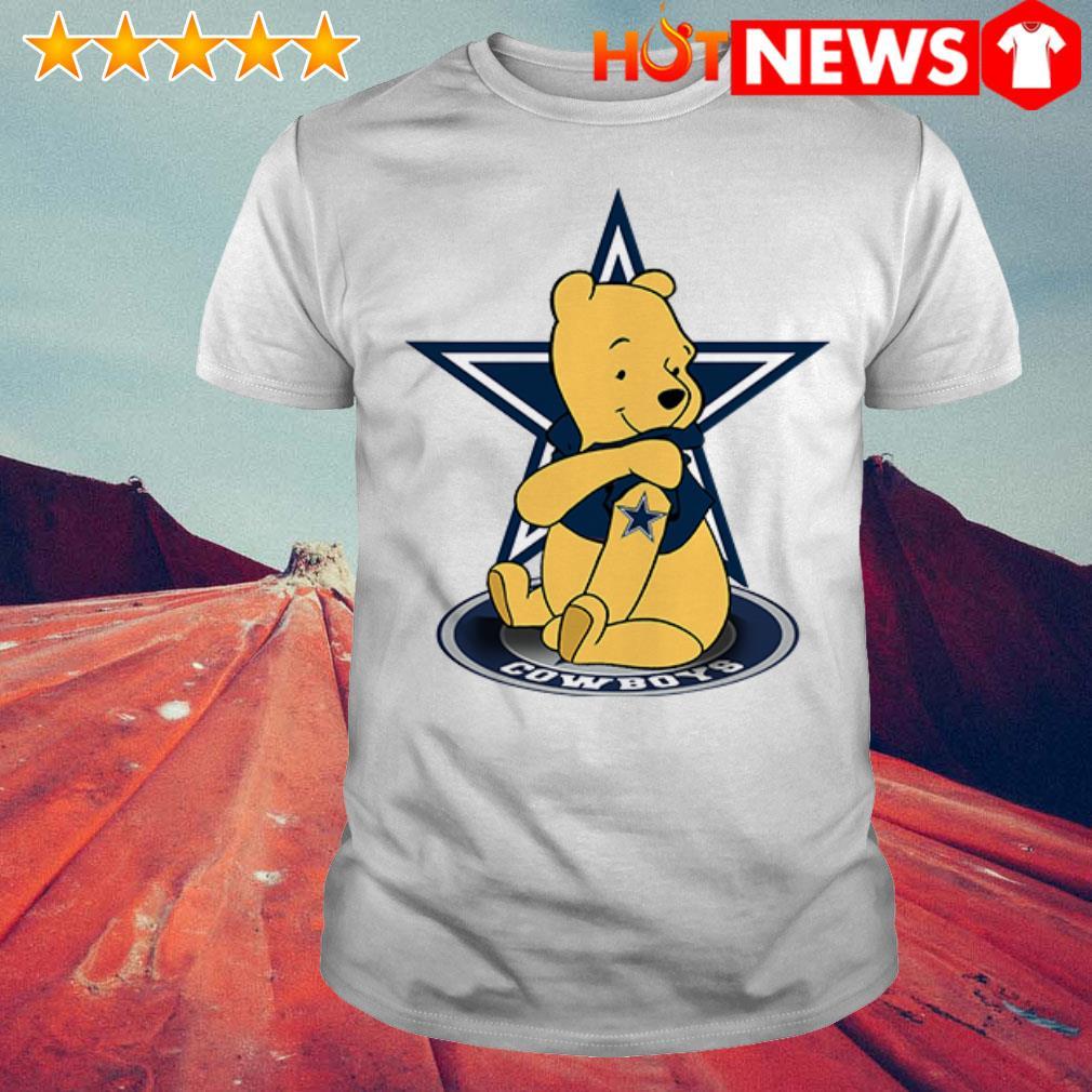 Winnie the Pooh loves Dallas Cowboys shirt