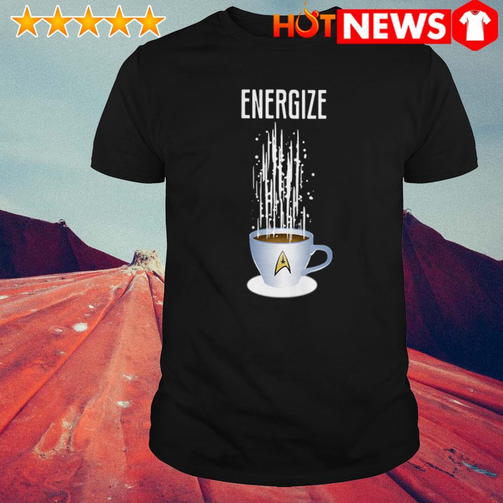 Energize Star Trek Coffee shirt