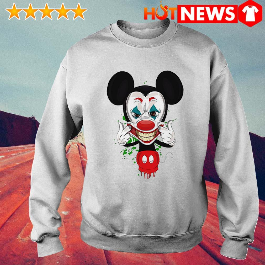 Mickey Mouse Joker face Sweater