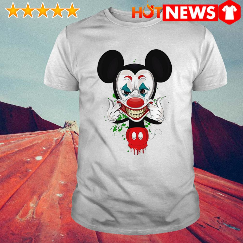 Mickey Mouse Joker face shirt