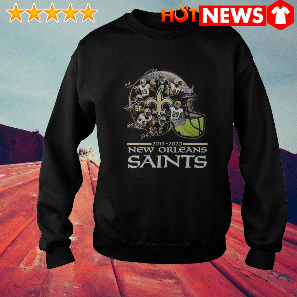 New Orleans Saints 2019-2020 signatures Sweater