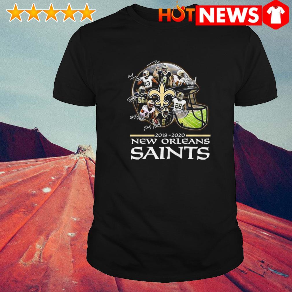 New Orleans Saints 2019-2020 signatures shirt