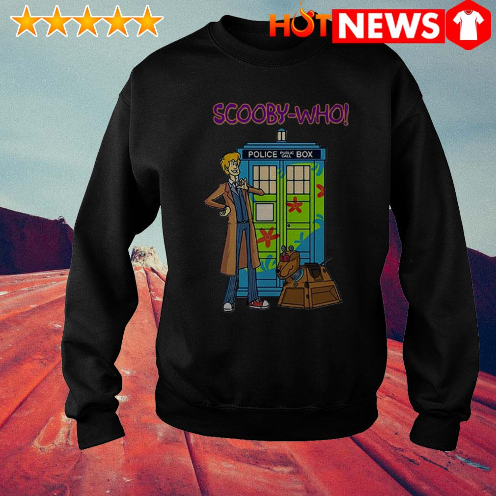 Scooby-Doo Scooby-Who police public call box Sweater