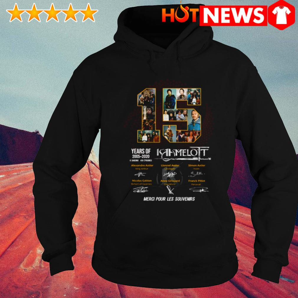 15 Years of Kaamelott 2005-2020 6 saisons 458 episodes all characters signatures Hoodie