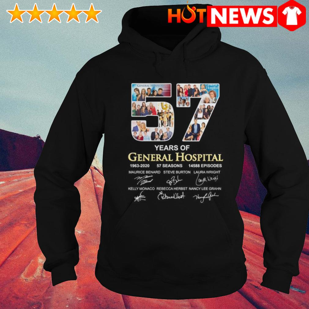 57 Years of General Hospital 1963-2020 all characters signatures Hoodie