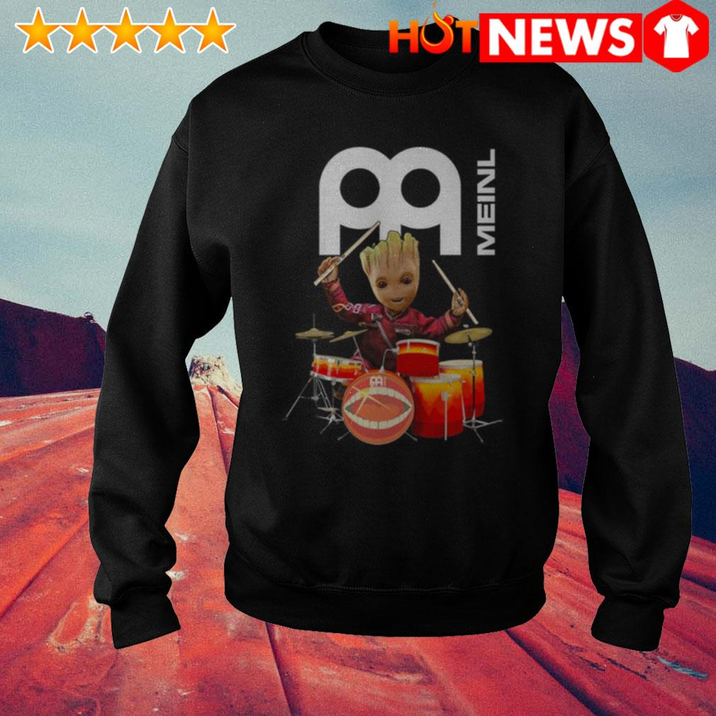Baby Groot play drum Meinl Percussion Sweater