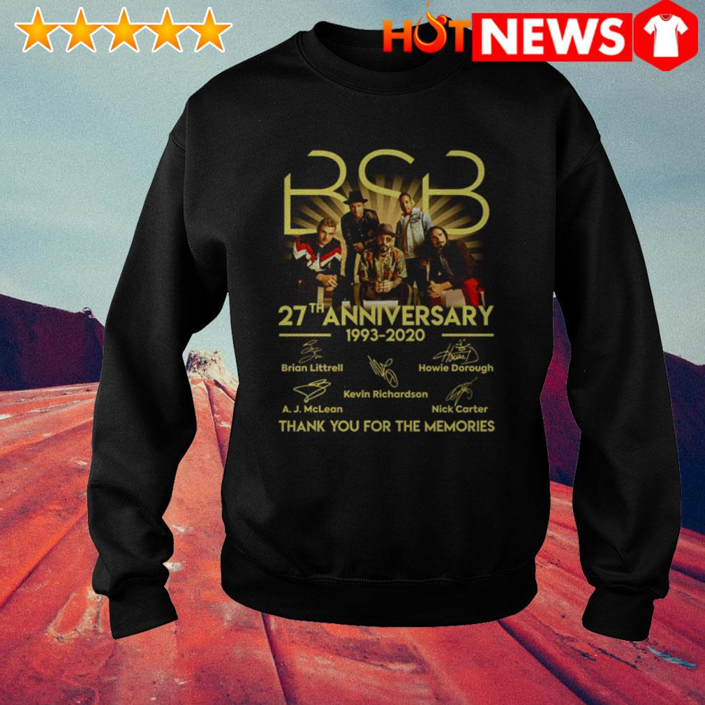 BSB 27th Anniversary 1993-2020 all members signatures Sweater