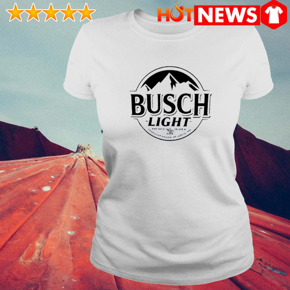 Busch Light Beer Logo Ladies Tee