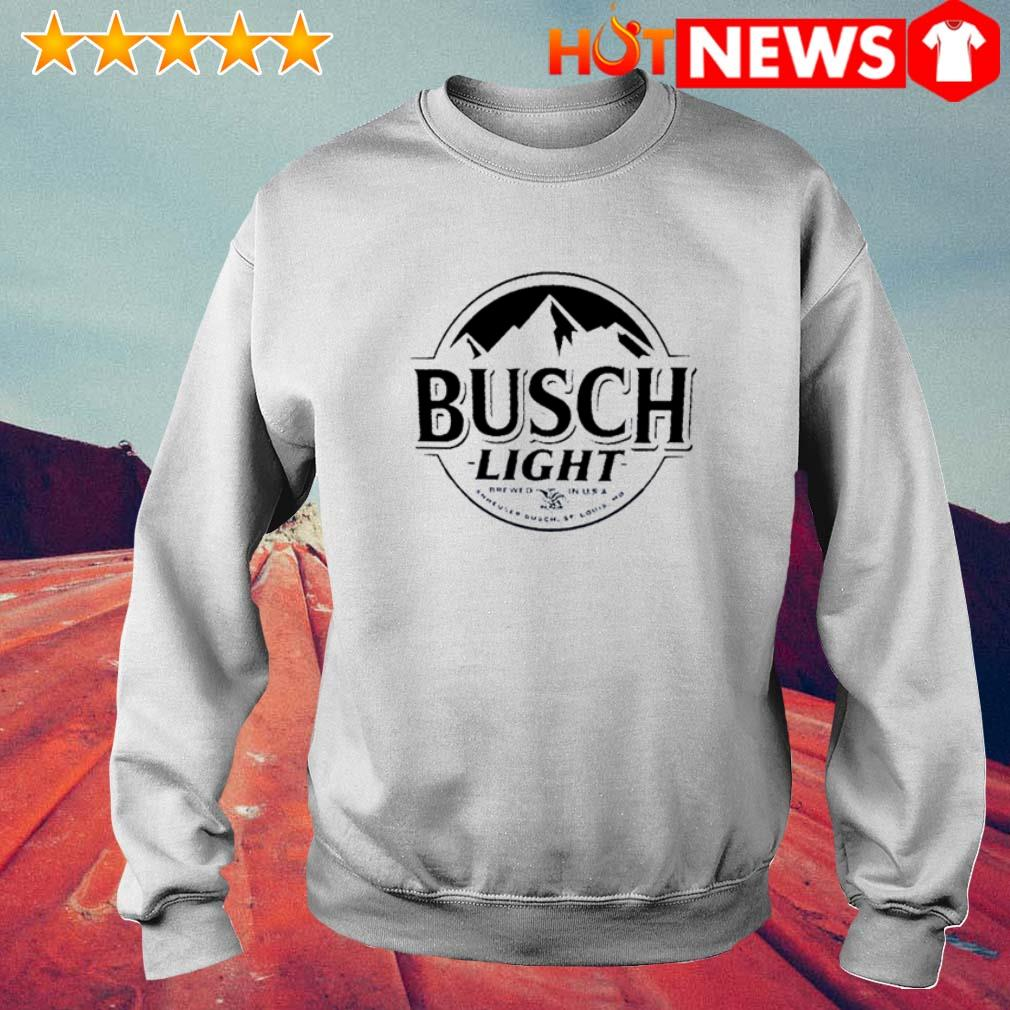Busch Light Beer Logo Sweater