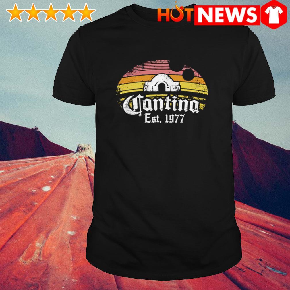 Cantina Est. 1977 sunset shirt