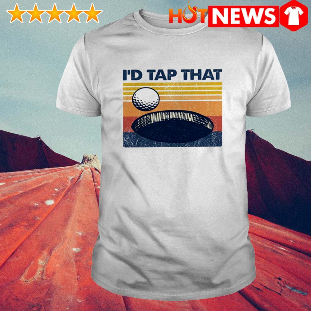 Golf I'd tap that vintage shirt