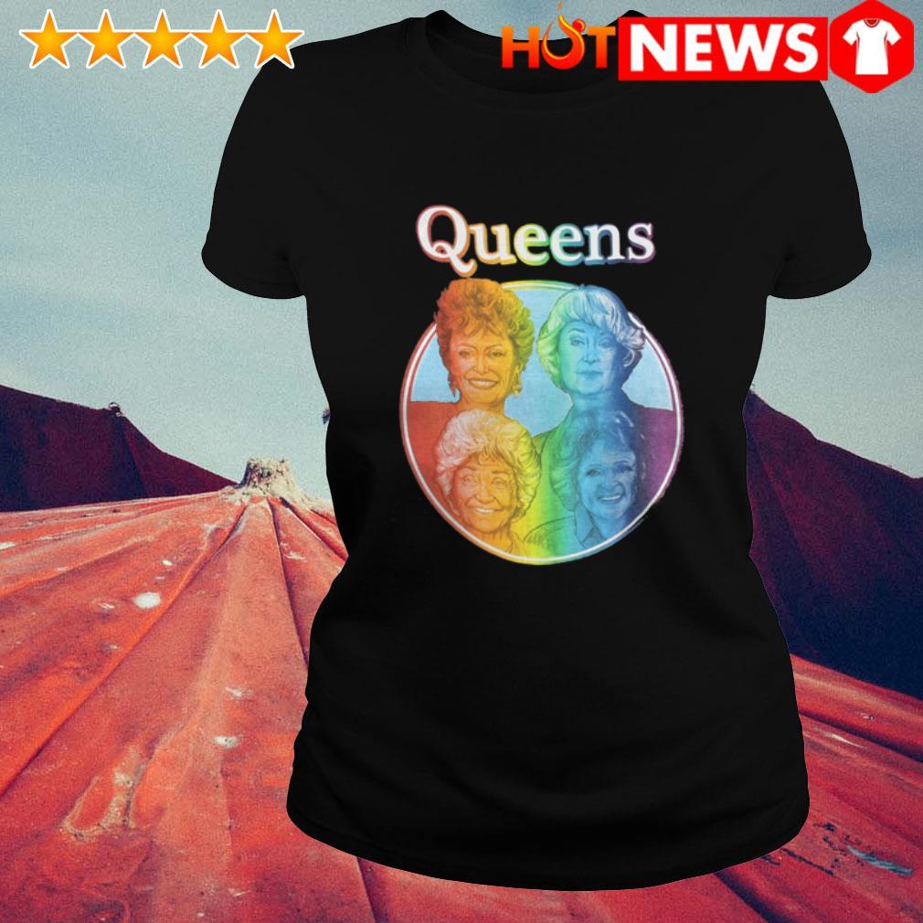 LGBT The Golden Girls Queen Ladies Tee