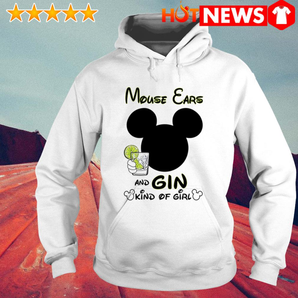 Mouse ears and gin kinds of girl Hoodie