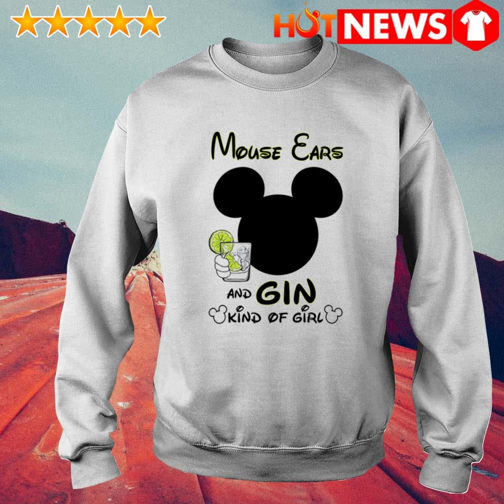 Mouse ears and gin kinds of girl Sweater