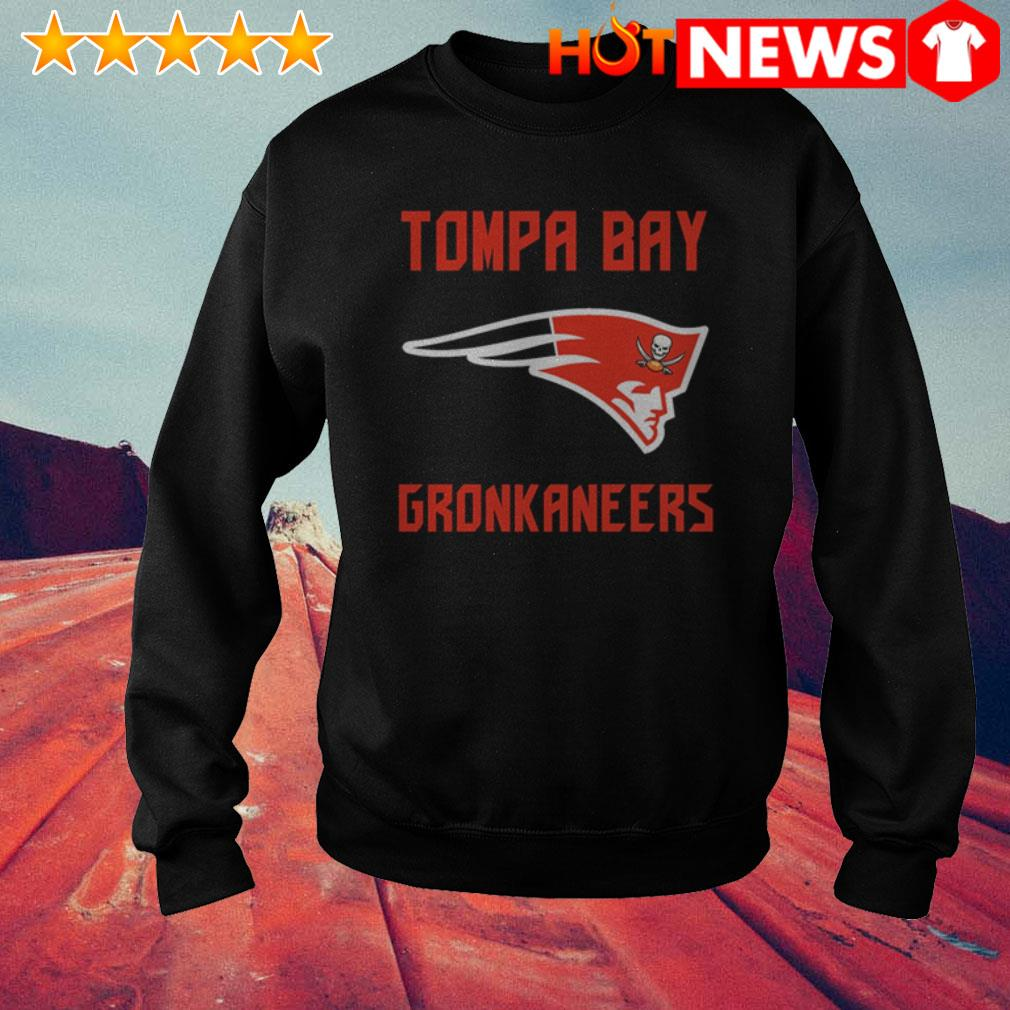 Patriots and Buccaneers Tompa Bay Gronkaneers Sweater