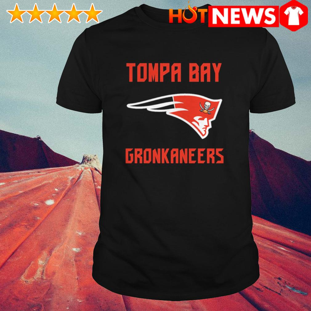 Patriots and Buccaneers Tompa Bay Gronkaneers shirt