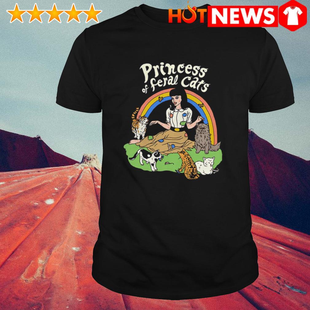 Princess of feral cats Rainbow shirt