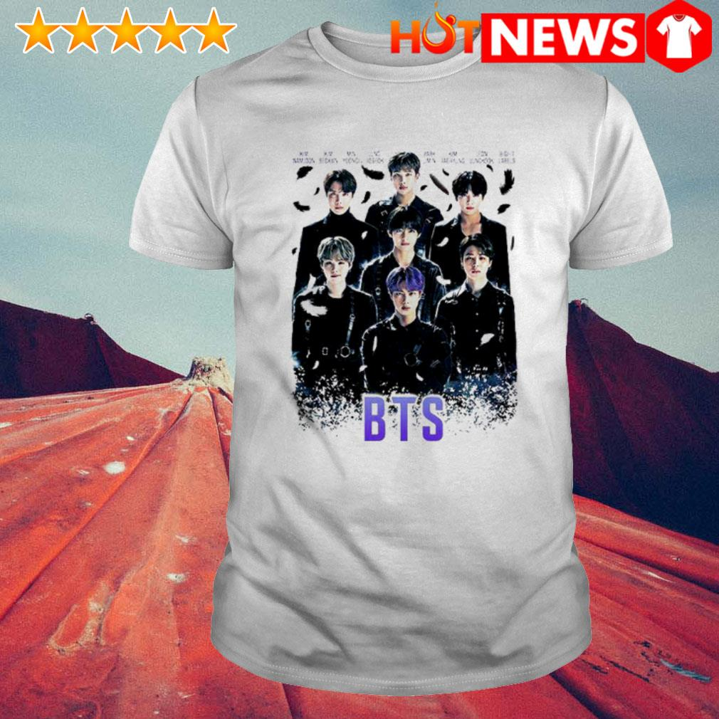 The Incredible BTS Band all members shirt