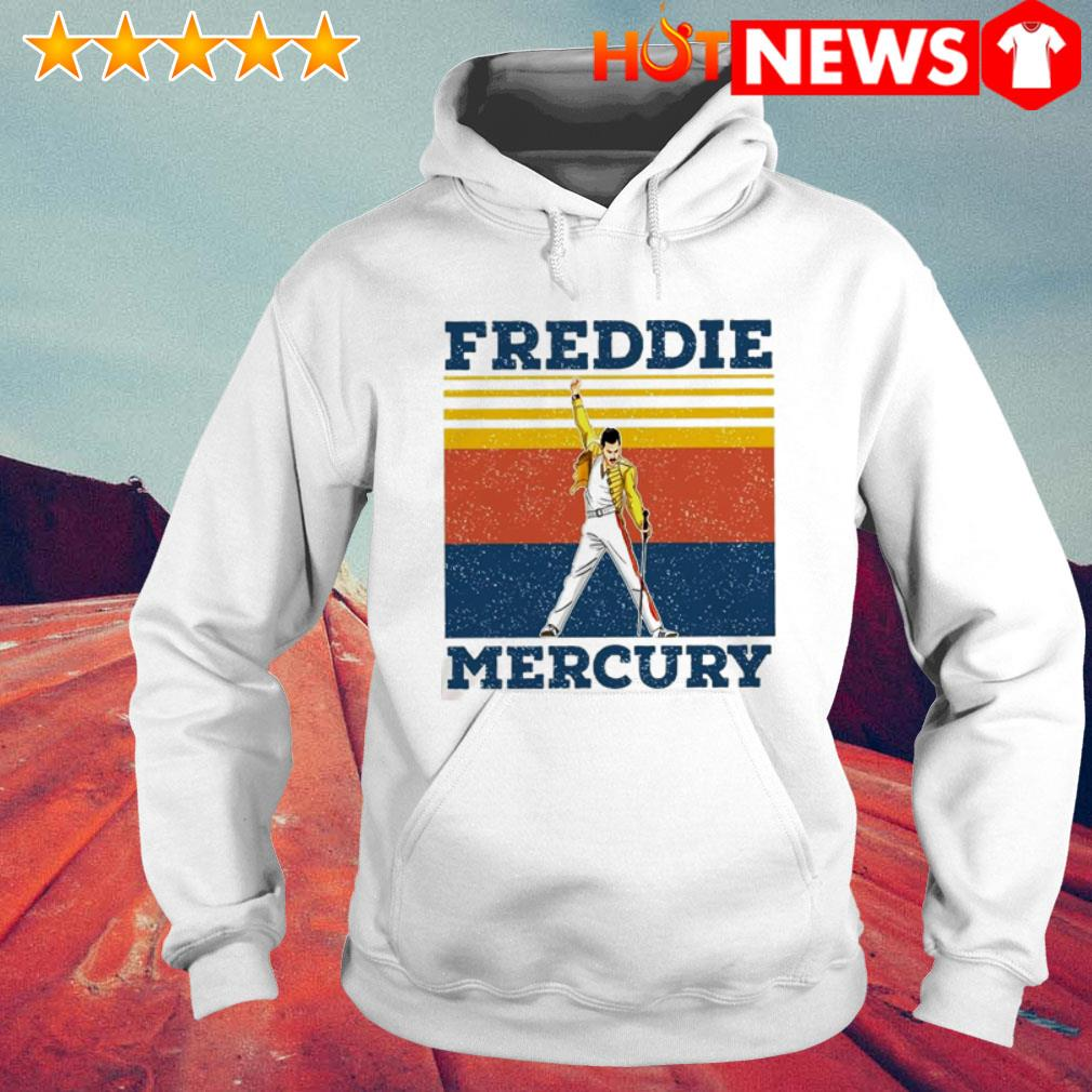 Vintage Queen Band Freddie Mercury Hoodie