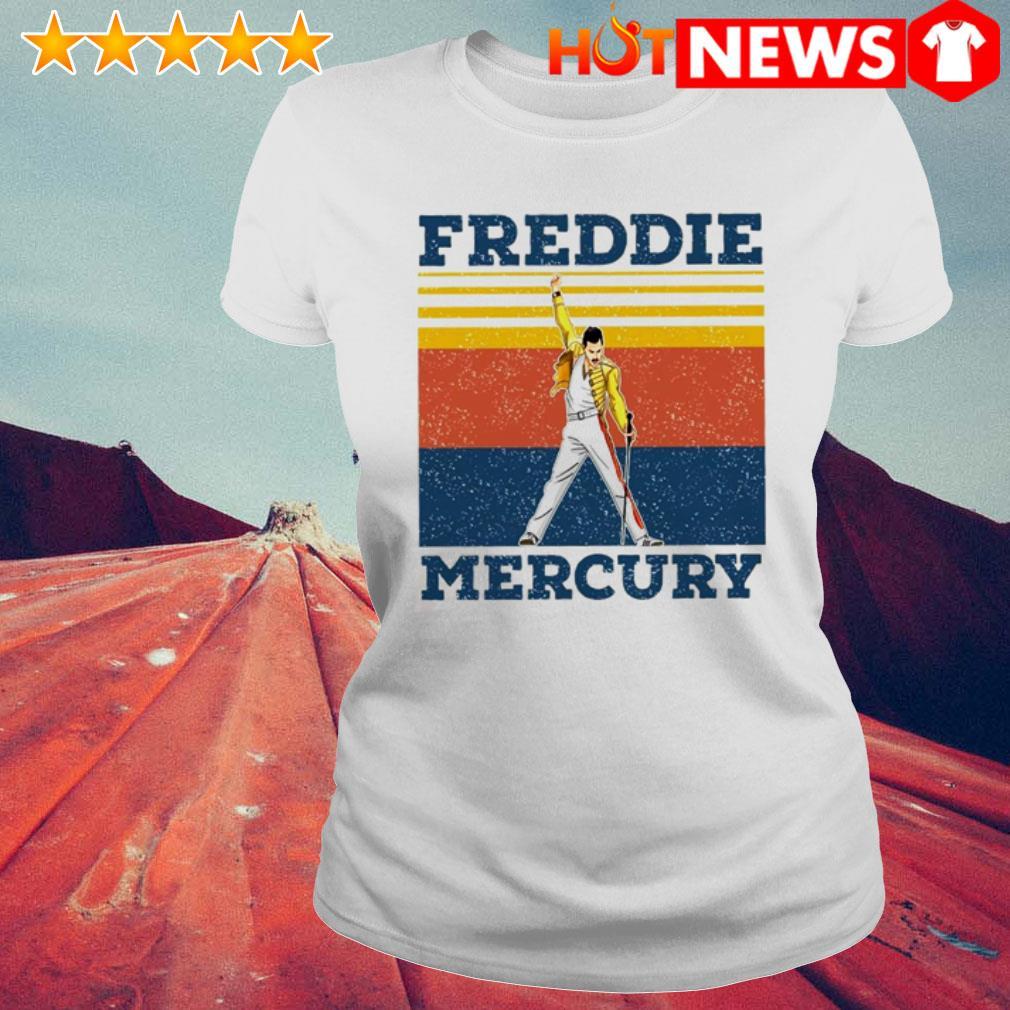 Vintage Queen Band Freddie Mercury Ladies Tee