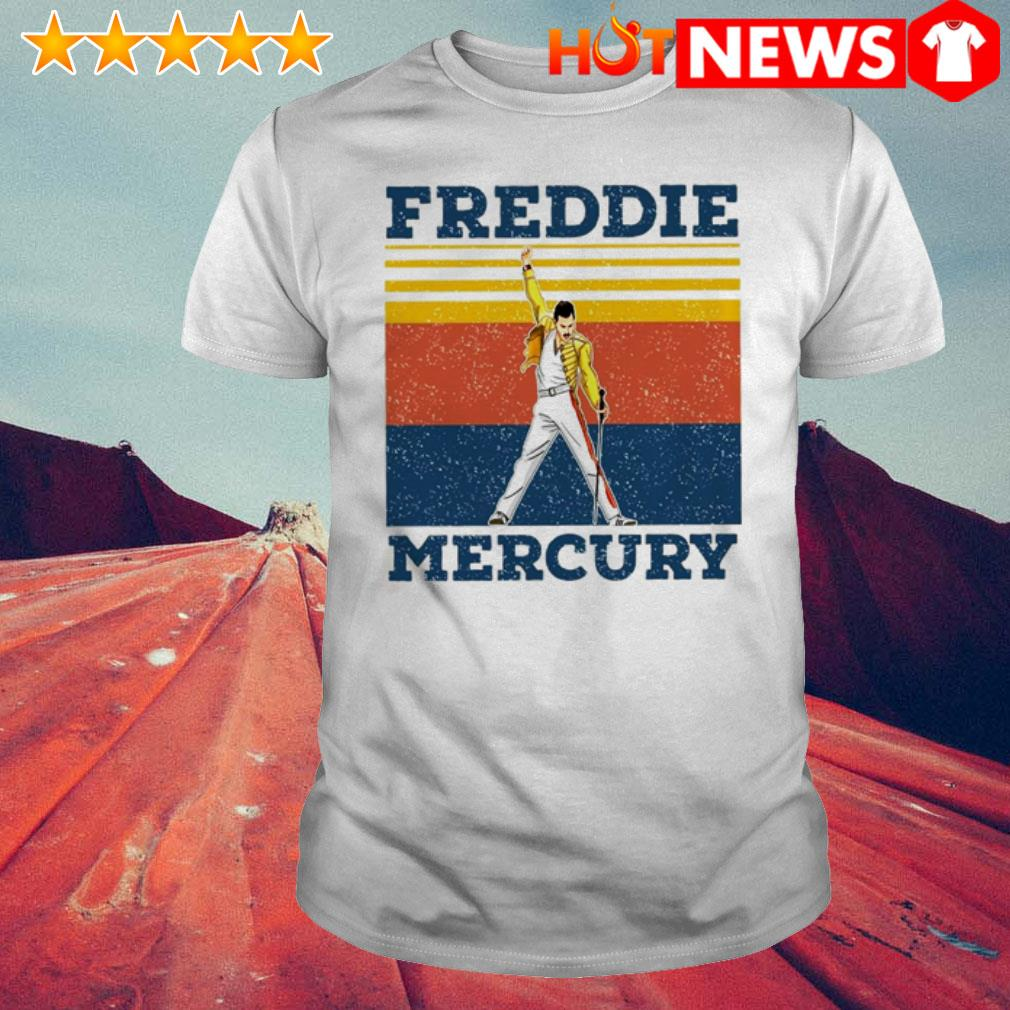 Vintage Queen Band Freddie Mercury shirt